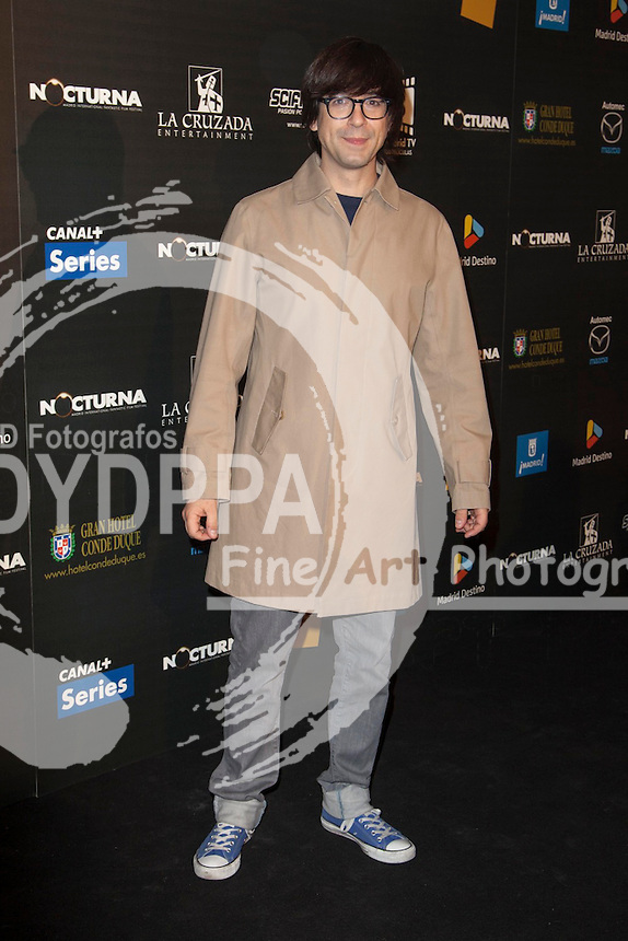 "Celebrities attend ""Nocturna"" Madrid Fantastic Film Festival. In the image: Luis Piedrahita  at Palafox Cinema in Madrid Spain. May 28, 2013  Nacho Lopez / DYD FOTOGRAFOS-DYDPPA"