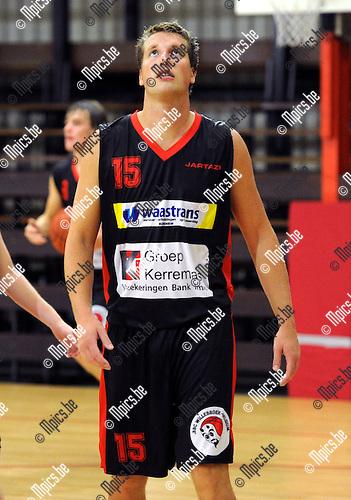 2012-08-15 / Basketbal / seizoen 2012-2013 / BBC Willebroek / Yannick Corthals..Foto: Mpics.be