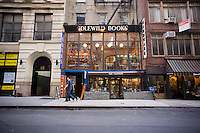 Idlewild Books, an independent bookstore specializing in travel and world literature is seen in the Flatiron neighborhood of New York on Tuesday, August 28, 2012.  Few independent bookstores remain and the ones that are still in business tend to specialize in various subjects. (© Richard B. Levine)