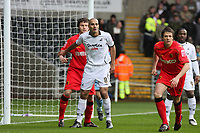 Pictured: Darren Pratley of Swansea City in action <br /> Re: Coca Cola Championship, Swansea City Football Club v Watford at the Liberty Stadium, Swansea, south Wales 09 November 2008.<br /> Picture by Dimitrios Legakis Photography (Athena Picture Agency), Swansea, 07815441513