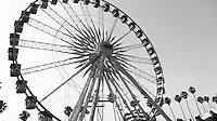 The famous Coachella ferris wheel, La Grande Wheel. The place to get the best views of the grounds!
