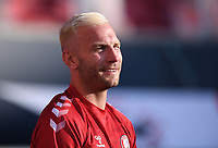 22nd July 2020; Ashton Gate Stadium, Bristol, England; English Football League Championship Football, Bristol City versus Preston North End; Andreas Weimann of Bristol City warms up