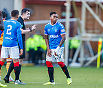 15.12.2019 Motherwell v Rangers: Don Robertson and Alfredo Morelos