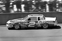 BROOKLYN, MI - AUGUST 11: Rusty Wallace drives the Cliff Stewart Pontiac during the Champion Spark Plug 400 NASCAR Winston Cup race at the Michigan International Speedway near Brooklyn, Michigan, on August 11, 1985.