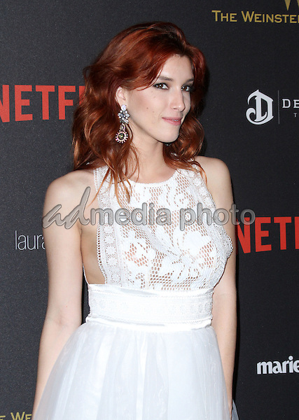 10 January 2016 - Los Angeles, California - Dani Thorne. 2016 Weinstein Company & Netflix Golden Gloves After Party held at the Beverly Hilton Hotel. Photo Credit: AdMedia