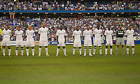 03 August 2010 The starting eleven of Inter Milan during an international friendly  between Inter Milan FC and Panathinaikos FC at the Rogers Centre in Toronto..
