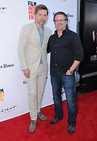 "17 June 2017 - Culver City, California - Nikolaj Coster-Waldau, Ric Roman Waugh. LA Film Festival Premiere of ""Shot Caller"" held at ArcLight Culver City in Culver City. Photo Credit: Birdie Thompson/AdMedia"