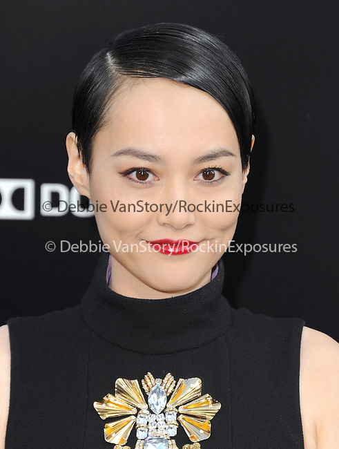 Rinko Kikuchi at The Warner Bros. Pictures L.A. Premiere of Pacific Premiere held at The Dolby Theater in Hollywood, California on July 09,2013                                                                   Copyright 2013 Hollywood Press Agency