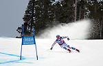 December 1, 2017:  Germany's, Andreas Sander #10, attacks a challenging course in the Super G competition during the FIS Audi Birds of Prey World Cup, Beaver Creek, Colorado.
