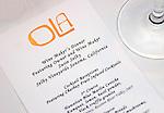 Invitation, Ola Restaurant, Lincoln Road, Miami, Florida