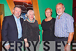 Denis Finnegan, Ann Finnegan, Joan Hayes and John Hayes, Killarney enjoying the River Island Hotel Castleisland Dance with the P.J. Murrihy and Jerome Coakley Band on Thursday