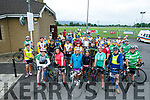 At the start of the Na Gaeil Cycle on Saturday