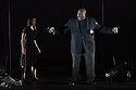 EMBARGOED UNTIL 7:30pm 11.04.15. London, UK. 09.04.2015. English National Opera presents the world premiere of Tansy Davies' BETWEEN WORLDS, at the Barbican. Picture shows: Ronald Samm (Security Guard). Photograph © Jane Hobson.