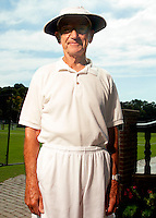 USTA National Mens 85 & 90 Grass Court Championships.Longwood Cricket Club..87-yr-old W.T. Mathes from Johnson City, TN.