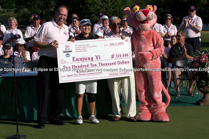 05-07-2009:  Eunjung Yi wins the 2009 Jamie Farr Owens Corning Classic