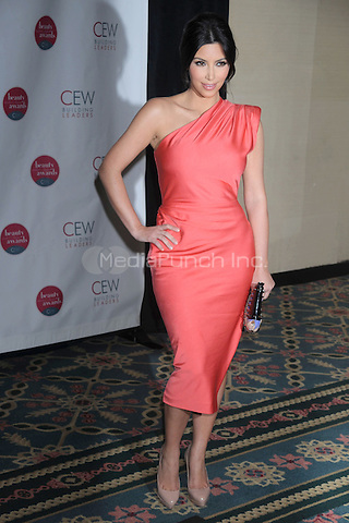 Kim Kardashian at the 2010 Cosmetic Executive Women Beauty Awards at The Waldorf=Astoria in New York City. May 21, 2010.Credit: Dennis Van Tine/MediaPunch
