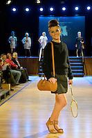 Amelia Boland, New Zealand Eco Fashion Exposed, Eco Designer Runway at Notre Dame Performing Arts Centre, Lower Hutt, New Zealand on Saturday 26 July 2014. <br /> Photo by Masanori Udagawa. <br /> www.photowellington.photoshelter.com.