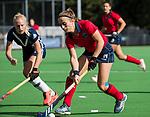 AMSTELVEEN  - Klaartje de Bruijn (Lar) , hoofdklasse hockeywedstrijd dames Pinole-Laren (1-3). COPYRIGHT  KOEN SUYK