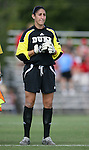 07 October 2007: Duke's Allison Lipsher. The Duke University Blue Devils defeated the North Carolina State University Wolfpack 1-0 at Method Road Soccer Stadium in Raleigh, North Carolina in an Atlantic Coast Conference NCAA Division I Women's Soccer game.