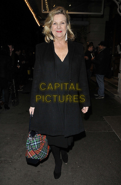 LONDON, ENGLAND - FEBRUARY 25: Ann Mitchell attends the &quot;The Full Monty&quot; press night, Noel Coward Theatre, St Martin's Lane, on Tuesday February 25, 2014 in London, England, UK.<br /> CAP/CAN<br /> &copy;Can Nguyen/Capital Pictures