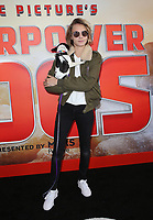 9 March 2019 - Los Angeles, California - Cara Delevingne. the premiere of IMAX documentary, Superpower Dogs held at IMAX - California Science Center. Photo Credit: Faye Sadou/AdMedia
