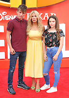 Melinda Messenger and guests at the &quot;Incredibles 2&quot; UK film premiere, BFI Southbank, Belvedere Road, London, England, UK, on Sunday 08 July 2018.<br /> CAP/CAN<br /> &copy;CAN/Capital Pictures
