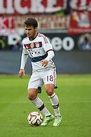 Mehdi Benatia (BAyern) - Eintracht Frankfurt vs. FC Bayern München, Commerzbank Arena