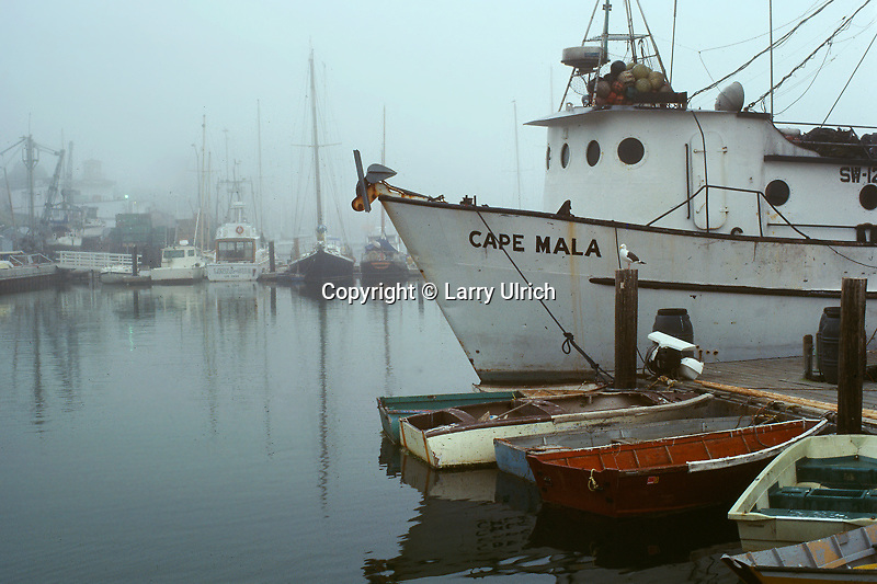 Boats in fog<br />