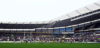 PICTURE BY VAUGHN RIDLEY/SWPIX.COM - Rugby League - Super League - Hull FC v Wigan Warriors - KC Stadium, Hull, England - 22/04/12 - GV, General View.