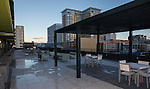 The Sky pool and sun deck during the 3rd Street Flats Grand Opening tour in downtown Reno on Jan. 24, 2017..