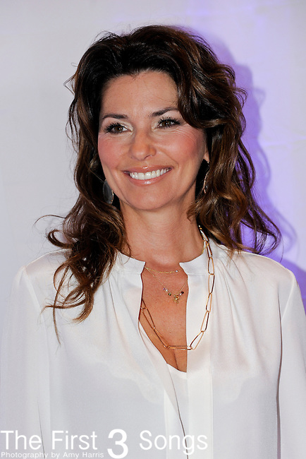 Shania Twain attends a book signing for her autobiography 'From This Moment On' at Bridgestone Arena on June 10, 2011 in Nashville, Tennessee during the 2011 CMA Music Festival.