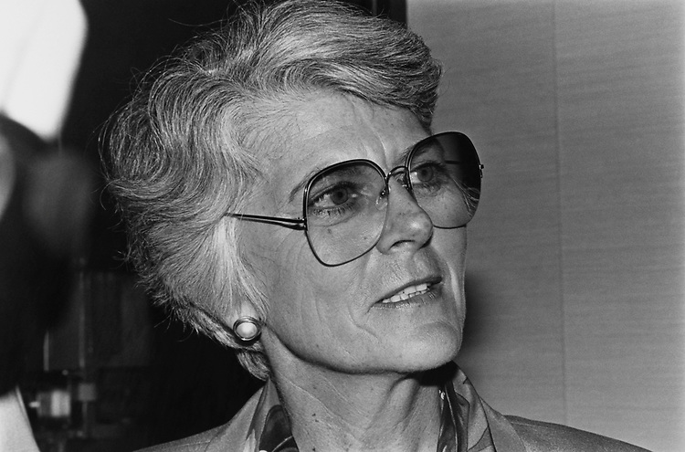 Portrait of Former Rep. Geraldine Ferraro, D-N.Y., on June 15, 1992. (Photo by Laura Patterson/CQ Roll Call via Getty Images)