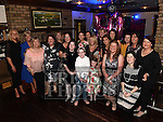 Carmel O'Brien celebrating her 50th birthday with all the girls in Daly's of Donore. Photo:Colin Bell/pressphotos.ie