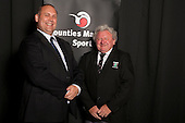 Service to Sport Recpient Gary Martin from the Counties Manukau Rugby Football Union.  Counties Manukau Sport Sporting Excellence Awards held at the Telstra Clear Pacific Events Centre Manukau on December 1st 2011.