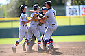 Sendai Ikuei Shukoh Middle School team group, AUGUST 20, 2014 - Baseball : The playersof Sendai Ikuei Shukoh Middle School celebrate after winning the 36th All Japan Junior High School Championship Baseball final match Sendai Ikuei Shukoh Middle School 3-0 Nakashibetsu at Naruto Otsuka Sports Park Baseball Stadium in Naruto, Tokushima, Japan. (Photo by AFLO SPORT)