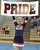 Rachel Watson of Smithtown West performs during a varsity cheerleading competition held at Hauppauge High School on Saturday, Jan. 21, 2017.