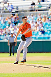 5 March 2006: Kris Benson, pitcher for the Baltimore Orioles, on the mound during a Spring Training game against the Washington Nationals. The Nationals defeated the Orioles 10-6 at Space Coast Stadium, in Viera Florida...Mandatory Photo Credit: Ed Wolfstein..