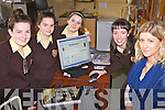 CAMPAIGN: Students at Presentation Secondary School, Listowel who have launched an online petition to save their career guidance service, l-r: Alice Neville, Patricia Goulding, Claudia Geaney, Muireann Kissane, Aisling O'Dwyer (Career Guidance Teacher).