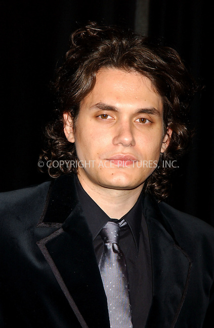 WWW.ACEPIXS.COM . . . . . ....Please byline: KRISTIN CALLAHAN - ACEPIXS.COM....June 15, 2006, New York City....John Mayer attends the 2006 Songwriters Hall of Fame. .. . . . . . ..Ace Pictures, Inc:  ..(212) 243-8787 or (646) 769 0430..e-mail: info@acepixs.com..web: http://www.acepixs.com