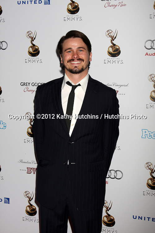 LOS ANGELES - SEP 21:  Jason Ritter arrives at the Primetime Emmys Performers Nominee Reception at Spectra by Wolfgang Puck on September 21, 2012 in Los Angeles, CA