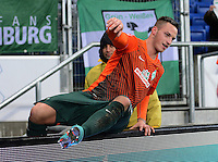 FUSSBALL   1. BUNDESLIGA  SAISON 2012/2013   15. Spieltag TSG 1899 Hoffenheim - SV Werder Bremen    02.12.2012 JUBEL SV Werder Bremen; Dreifacher Torschuetze Marko Arnautovic
