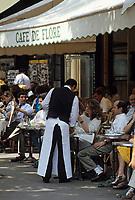 """Europe/France/Ile-de-France/75006/Paris: Le """"Café de Flore"""" boulevard Saint-Germain"""