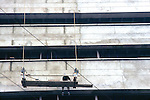 Man On Scafolding