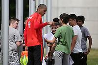 10.05.2016: Eintracht Frankfurt Training