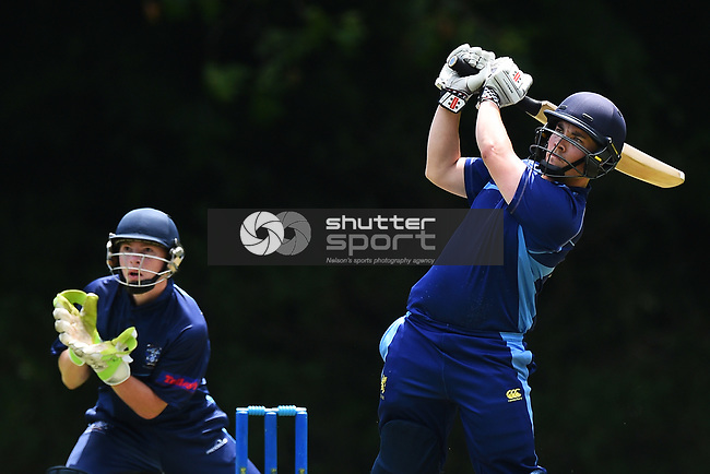 NELSON, NEW ZEALAND - Premier Cricket - ACOB v Nelson College. Botanics, Nelson, New Zealand. Saturday 8 December 2018. (Photo by Chris Symes/Shuttersport Limited)