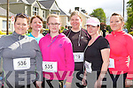 Denise Hanbridge Tralee, Kathleen Moriarty Kilflynn, Ciara Hanbridge Tralee, Susan Bartlett Firies, Ann Marie Corbett Firies and Ruth Falvey Tralee who ran in the Lee Strand/An Riocht 10k in Castleisland on Sunday