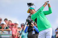 Rickie Fowler (USA) on the 3rd tee during the 3rd round of the Waste Management Phoenix Open, TPC Scottsdale, Scottsdale, Arisona, USA. 02/02/2019.<br /> Picture Fran Caffrey / Golffile.ie<br /> <br /> All photo usage must carry mandatory copyright credit (&copy; Golffile | Fran Caffrey)