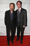L-R Ed Zwick and Peter W Kunhardt Jr. arrive at the Gordon Parks Foundation 2014 Award Dinner and Auction on June 3, 2014 at Cipriani Wall Street, located on 55 Wall Street.