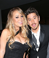 BEVERLY HILLS, CA - JANUARY 7: Mariah Carey, Bryan Tanaka, at 75th Annual Golden Globe Awards_Roaming at The Beverly Hilton Hotel in Beverly Hills, California on January 7, 2018. <br /> CAP/MPIFS<br /> &copy;MPIFS/Capital Pictures