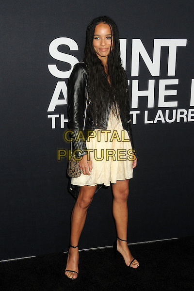 10 February 2016 - Los Angeles, California - Zoe Kravitz. Saint Laurent At The Palladium held at the Hollywood Palladium. <br /> CAP/ADM/BP<br /> &copy;BP/ADM/Capital Pictures